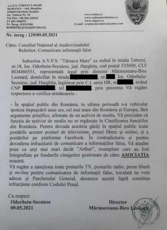sesizare cna, arthur, rus, print austria