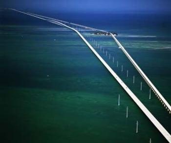 Seven Mile Bridge din Florida pod