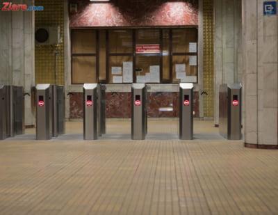 sistem intrare metrou Nicolae Grigorescu