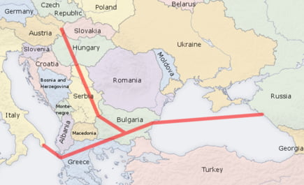 Slovo Nabucco, Spasenie South Stream