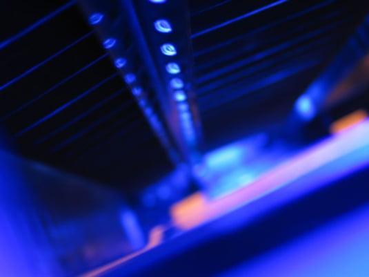 Spatiul iluminat cu ultraviolete