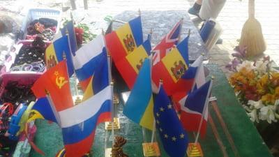 steaguri rusesti Moldova