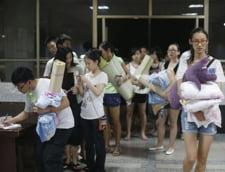 studenti canicula China