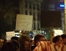 studenti protest Capitala