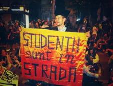 studenti protest rosia montana