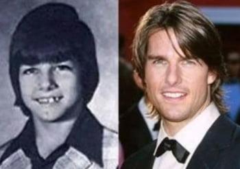 Tom Cruise copil infatisare