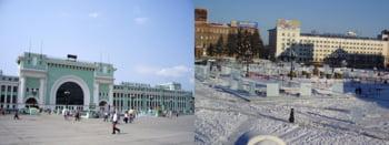 traseu Transsiberian Novosibirsk