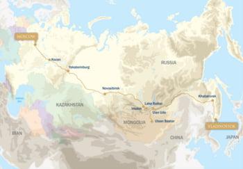 traseu Transsiberian