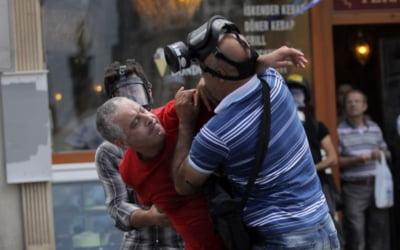 Turcia proteste violente