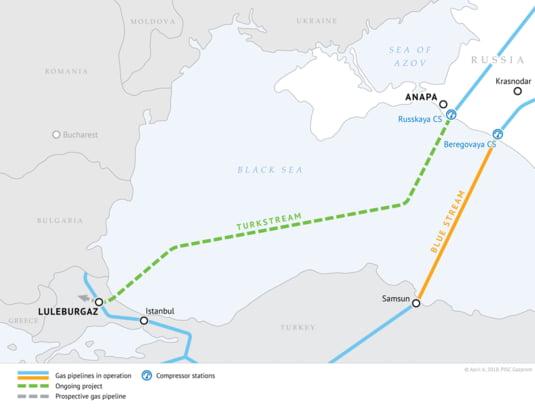 TurkStream, al doilea gazoduct dintre Rusia si Turcia, dupa BlueStream