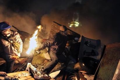 Ucraina baricade