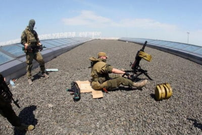 Ucraina dupa alegeri - Explozii si impuscaturi la aeroportul din Donetk LIVE