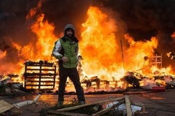 Ucraina noi violente