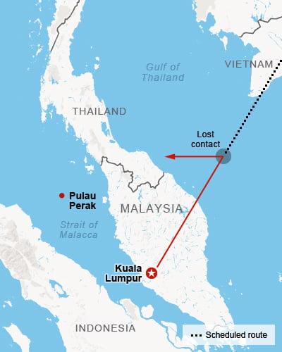 Ce S A Intamplat Cu Zborul 370 Malaysia Airlines Hartile Care
