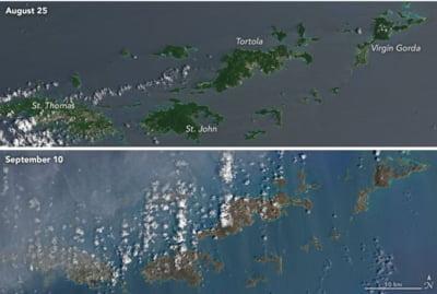 uragan Irma insule Caraibe