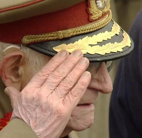 Veteran razboi parada militara