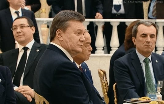 Viktor Ianukovici, fost presedinte al Ucrainei, sustinut de Putin