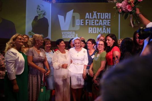 Viorica Dancila, la finalul congresului in care a fost desemnata candidat la prezidentiale