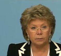 Viviane Reding congres PPE
