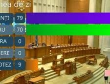 vot electronic motiune cenzura Dancila